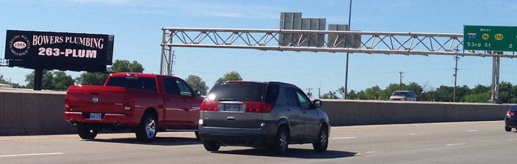 I-135 and 96 Hwy (South Face) Billboard Wichita, KS