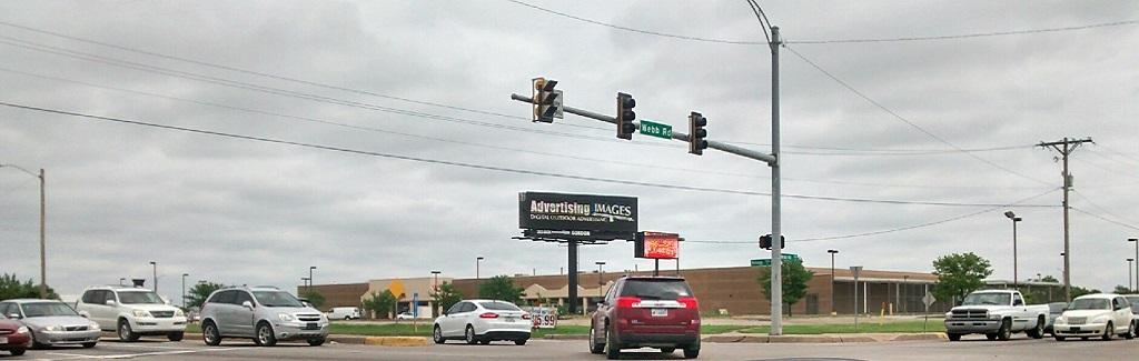 Kellogg & Webb billboard wichita, ks