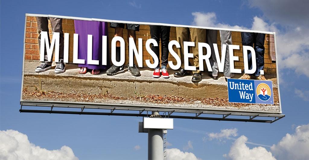 United Way Digital Advertising, Wichita, Kansas