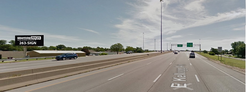 Kellogg and Hydraulic Billboard Wichita, KS