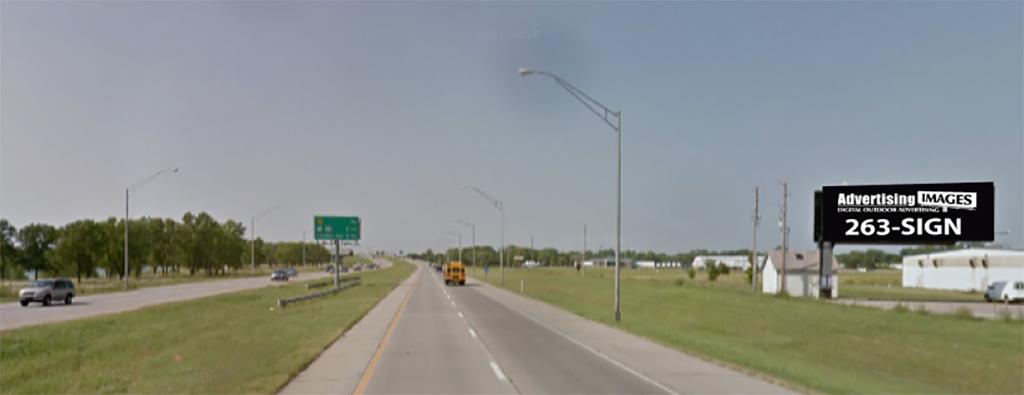I-235 & West St (South Face) Billboard